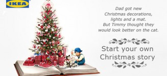 Start your Christmas Story with IKEA Christmas Trees & Decorations
